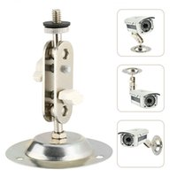 Wholesale cctv camera wall mount - camera holder Metal Wall Mount Bracket Stand Monitor Installation Holder for CCTV Security Camera (Free shipping)