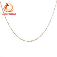 Wholesale silver chain 1.5mm resale online - 235S classic basic chain silver lobster adjustable necklace chain jewelry mm cm