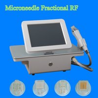 Wholesale needling wrinkles - New Design 4 tips Fractional machine microneedle Fractional RF Micro needle Fractional RF Skin Care Beauty Machine