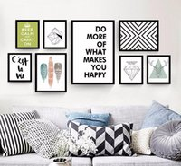 gemälde für hotelzimmer großhandel-Nordic moderne minimalistische persönlichkeit kreative gemälde hotel hotel wohnzimmer sofa wanddekoration malerei kostenloser versand