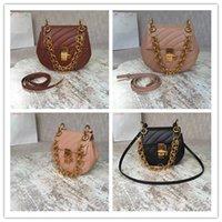 роскошная упаковка оптовых-Роскошная дизайнерская женская сумка роскошная натуральная кожа с элегантным высококачественным пакетом женщин цепи