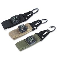Wholesale service camps - Factory direct sale MOLLE hook buckles outdoor belt Clip tactical service button deduction compass High Quality 4 2yw iiWW