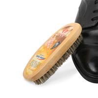 полировочные сапоги оптовых-Грива щетки обувь смазка полировка пыления очистка древесины материал челночная щетка кожаная обувь сапоги чистящие средства