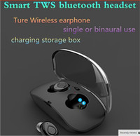 Wholesale Wireless Bluetooth Headset Mini Earphone for Phone In ear Headphones with Microhpone Handsfree Earbuds Pking