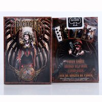 Wholesale bicycle play cards - Bicycle Anne Stokes Steampunk Deck Magic Cards Playing Cards Magic Props Close Up Magic Tricks for Professional Magician OOA4511