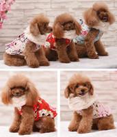 pet jackets princess NZ - Various Luxury Winter Dog Coat Warm Princess Pet Dog Dress Coat Pet Overalls Winter Clothes Clothing for Small Dog Pet