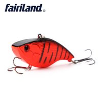Wholesale sinking vib lures online - 1 VIB Lure cm in g oz Hot Vib Crankbait Lifelike Fishing Lure High Quality Fishing Bait Slow Sinking Hard Lure