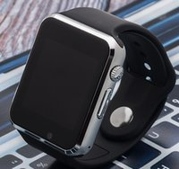 preços do android venda por atacado-A1 relógio inteligente telefone baixo preço bluetooth homens mulheres relógios inteligentes com sim tf câmera para android ios telefone
