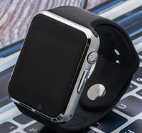 androide preise großhandel-A1 smart watch telefon niedrigen preis bluetooth männer frauen smart uhren mit sim tf kamera für android ios telefon