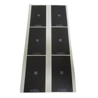 iphone için kodlar toptan satış-Jiutu DHL Gümüş Arka Sticker Filmi iphone 6/6 artı LCD Ekran Ekran QR kodu ile Arka Işık Yapıştırıcı Bant