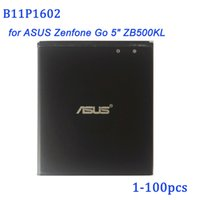"""Wholesale asus batteries - 100% Real Capacity 2660mAh B11P1602 Battery for ASUS Zenfone Go 5"""" ZB500KL X00AD X00ADC X00ADA Phone battery"""