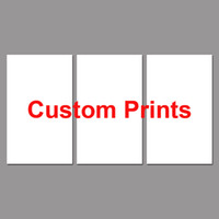 Wholesale Custom Framed Art - Drop Shipping Custom Made Canvas Wall Art Picture Landscape Painting 3 Panel Customized Modern Living Room Decorative PENGDA