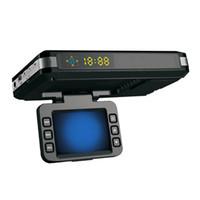 ingrosso laser visivo-Il più nuovo 2 in 1 DVR per auto Radar Dash Cam Rilevatore di velocità del laser per la visione notturna Rilevazione radar per la visione notturna della videocamera per auto GPS Display LED