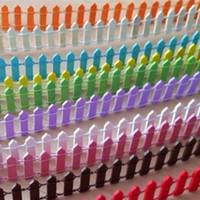 casas en miniatura hechas a mano al por mayor-Madera 90cm Hecho a mano Valla de madera Palisade Jardín en miniatura Casas en el hogar Decoración Mini Craft Micro Paisajismo Decoración Accesorios de bricolaje