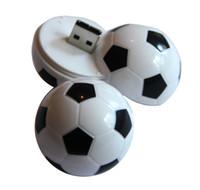 Wholesale flash usb cartoon 32gb resale online - New World Cup Cartoon Football Flag G G USB Flash Drives Soccer Team Fans Gift for PC Laptop USB Memory Stick Thumb Pen Drive