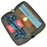profesyonel saç kesme makası setleri toptan satış-7.0 Inç Meisha Profesyonel Kuaförlük Büyük Makas Seti JP440C Saç Kesme Makası Salon Saç Thinnng Tijeras Saç Şekillendirici Araçları. HA0364