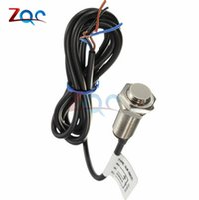 Wholesale proximity sensor npn - NJK-5002C Hall Effect Sensor Proximity Switch NPN 3-Wires Normally Open + Magne
