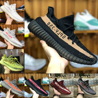 Wholesale aa basketball - 2018 New SPLY 350 V2 Boost Belgua 2.0 zebra black Orange Shoes Online Sale Discount Cheap Kanye West Men Women Basketball Running sneakers