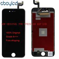 copia original del iphone al por mayor-(100% original) No China Copia LCD original + Retroiluminación original + Pantalla LCD IC original Digitalizador de pantalla táctil para iPhone 6S 6S Plus