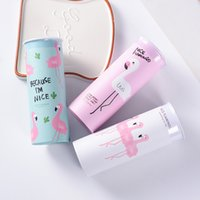 Wholesale wholesale printed paper napkins - Cartoon Flamingo Facial Tissue Printing Creative Design Round Shape Vehicular Eco Friendly Tissues Cute With Mix Color 3 9sd jj