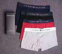 Wholesale Underwear Boxers Color - Tommy Men Underwear Boxers Cotton 6 Color M-XXL Breathable Letter Underpants Shorts Luxury Brand Design Cuecas Tight Waistband GOOD