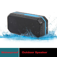 Wholesale good outdoor speakers - Outdoor Waterproof Wireless Speaker Newest Bluetooth HIFI MP3 Player Hiking Sports Portable Riding Music Players Big Sound Good Quality