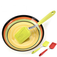Wholesale silicone pot handles for sale - Group buy Portable Silicone Cleaning Brushes Long Handle Dish Bowl Cleaning Brush Hanging Silicone Cleaner Kitchen Pot Bowl Cleaning Tools YFA273