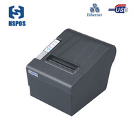 Wholesale barcode printer thermal - 80mm POS series Thermal receipt printers USB LAN Support cash drawer driver and auto cutter printing