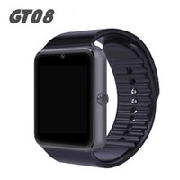 Wholesale Cameras Women - Smart Watch Phone Bluetooth Smartwatch GT08 VS DZ09 V8 Smart Watches Fitbit For Women Men Child Sports Wristwatch Support SIM TF Camera