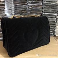 Wholesale velvet for sale for sale - Group buy Hot Sale Fashion Vintage Handbags Women bags Designer Handbags Wallets for Women Leather Chain Bag Crossbody and Shoulder Bags