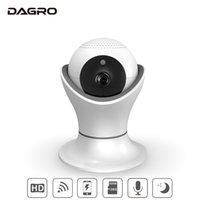caméra à distance ptz achat en gros de-DAGRO 360 Rotation PTZ Surveillance à distance sans fil WiFi Surveillance à distance intelligente Caméra vidéo de surveillance HD