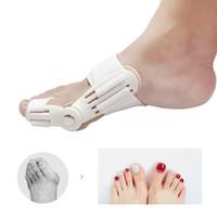 Wholesale brace splint - Bunion Aid Hinged Splint Toe Straightener Corrector Brace Brace Bunion Splint Straightener Corrector Foot Pain Relief Correction Pedicure