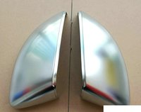 Wholesale New A3 V S3 Side Wing Mirror Covers Caps fit Audi A3 S3 Brushed Aluminum Matt chrome Replacement