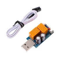 Wholesale computer button switch - USB WatchDog PLUS Card ADD Manual switch Reboot Button Module Automatic Restart Watch dog For Mining Gaming Computer PC