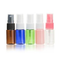 Wholesale Small Water Spray Bottles Wholesale - Wholesale 10ml ml spray bottle, PET bottle small watering can, cosmetic packaging, bottling, color variety, free shipping