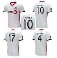 b22ae702e Thailand quality 2018 19 Toronto FC Soccer Jersey 2019 Away 10 GIOVINCO MLS  Soccer Shirts BRADLEY ALTIDORE Toronto Football uniform