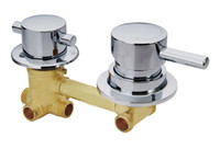 Wholesale copper wall mount faucets - Copper shower faucet shower mixing valve cold and hot water switch room