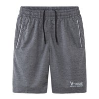 Wholesale teenage male fashion - Man shorts summer 2018 new spring male knee-length casual knitted teenage boy shorts fashion plus size 4XL 5XL black gray