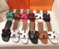 kutuları kes toptan satış-En Kaliteli Bayanlar Cut-Out Sandalet 1.5 cm 4.5 cm Tıknaz Topuklu Pompaları Yaz Süet Terlik Slayt Katır Flip Flop Ayakkabı Orijinal Kutusu