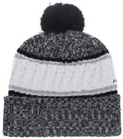 6c30b022bb8 2019 Autumn Winter hat Sports Hats Custom Knitted Cap with Team Logo  Sideline Cold Weather Knit hat Soft Warm Jacksonville Beanie Skull Cap