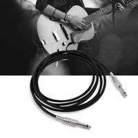 elektrischer kabelstecker großhandel-VBESTLIFE New 6,35 mm Klinkenstecker auf Monostecker E-Gitarre Line Protect Sommer Cable Universal
