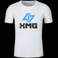 Wholesale Game Counters - Clg team t shirt Counter logic gaming short sleeve gown Game player xmg tees Unisex clothing Quality modal Tshirt
