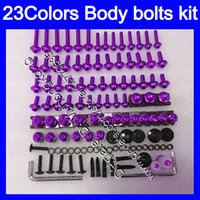 Wholesale 1994 Cbr - Fairing bolts full screw kit For HONDA CBR250RR 90 91 92 93 94 MC22 CBR 250RR 1990 1991 1992 93 1994 Body Nuts screws nut bolt kit 23Colors