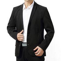 neue blazers winter großhandel-L-7XL (Büste 145cm) große Yards Männer Kleidung Mann Revers Farbe reine neue Art Herbst Winter Casual Anzug männlichen Business Blazer