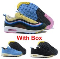 Wholesale hybrid hard - 97 1 Sean Wotherspoon VF SW Hybrid Best quality Running Shoes With Box Men Women free shipping