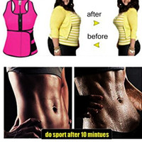 ingrosso più la maglia di cincher della vita di formato-Cincher Shaper Sweat Vest Trainer pancia Cintola controllo dello Shaper del corsetto corpo per le donne più Taglia S M L XL XXL 3XL 4XL