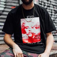 ingrosso scatole per foto-18FW Fashion Summer Summer Box di alta qualità logo MADONNA Photo Skateboard Top Mens designer t-shirt Women Street Luxury Casual T-shirt