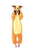 Wholesale One Piece Cosplay Costumes - Unisex Adult Deer Cosplay Costume One Piece Pajamas Animal Onesies
