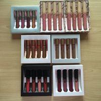 Wholesale Nude Love - 7 styles 20 sets KOKO KOLLECTION in love with koko ,nude matte limited makeup 4pcs set Liquid matte lipstick