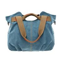 3b9b6ed4dcca China Designer Handbags Women Canvas Bags Ladies Casual Vintage Hobo Canvas  Daily Purse Top Handle Shoulder Shopper Handbag. 37% Off